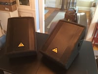 2 Speakers Behringer F1220 Floor Monitor Set Concord, 03301