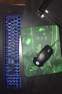 Gaming Keyboard & Mouse w/ Razer Mouse Pad