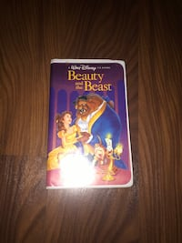 Beauty and the beast vhs Toronto, M9A 0B7