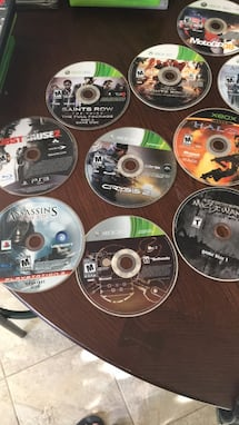 Xbox and PlayStation games