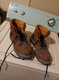 Establo Steel Toe Boots S- 9 867 mi