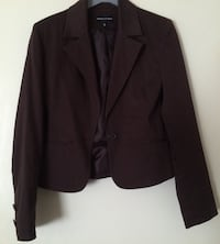 Veste marron 1-button Sains-en-Gohelle, 62114