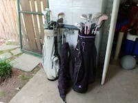 two black and white golf bags Alexandria, 22312