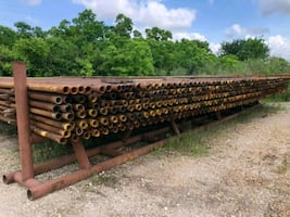 2 .3/8 × 32 FEET PIPE OIL FIELD PIPE.