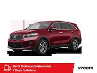 2019 Kia Sorento Passion Red hatchback