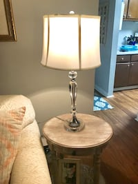 Glass table lamp with shade, matching lamp available for additional cost Goose Creek, 29445