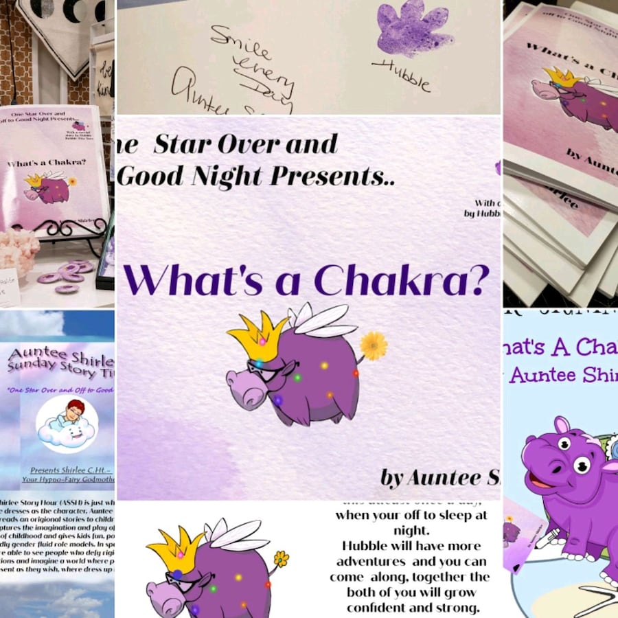 What's a Chakra - personally signed book