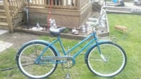 blue and white cruiser bike Coldwater, 49036