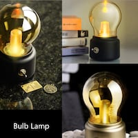 Brand New! Portable Rechargeable Novelty Light Bulb Lamp Columbus