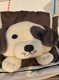 White and black bear plush toy New Rochelle, 10805