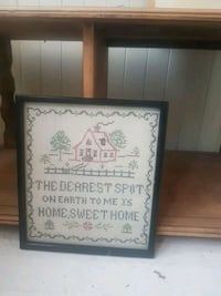 Sweet little cross stitch for your home sweet home Edmonton, T5H 2K5