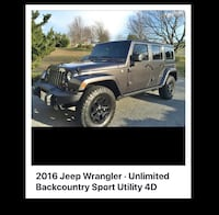 Jeep Wrangler  back country 2016 49 km