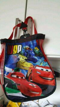 blue and red Cars themed backpack Calgary, T2A 6S1
