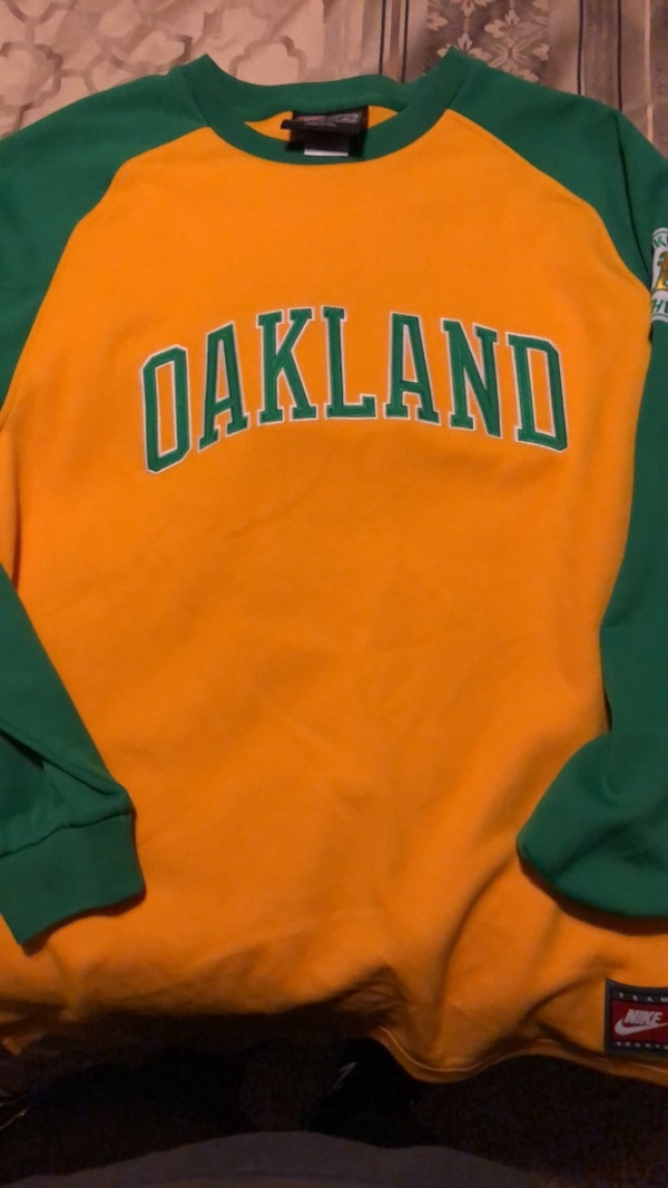 44910410d6b Used Nike Cooperstown Collection Oakleand A s Reggie Jackson long sleeve for  sale in Rockwall - letgo