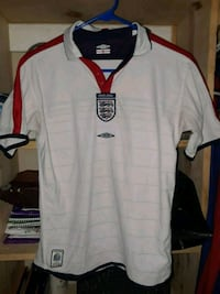 white and red Nike jersey shirt Brownsville, 78520