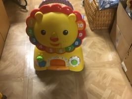 Kids ride on learning toy