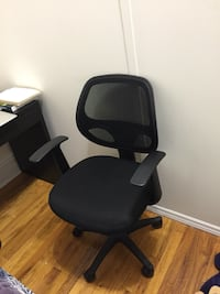 black and gray rolling armchair New York, 10023