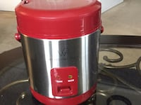 Red and gray electric rice cooker Ellicott City, 21043