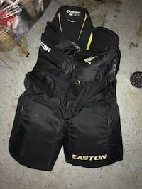 black and yellow Easton backpack Bedford, B4A 3W7