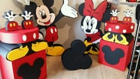 Strafor Mickey mouse ve minnie mouse  Ankara