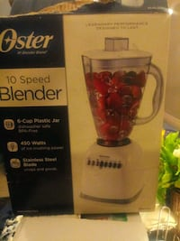black and red Oster blender box Baton Rouge, 70820