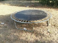 round black metal framed glass-top patio table Waco, 76705