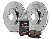 NEW DRILLED & SLOTTED ROTORS + BRAKE PADS FOR ALL YEARS, MAKES, & MODELS Garden Grove