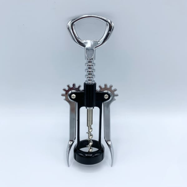 Stainless Steel Waiter Metal Wine Corkscrew Bottle Beer Cap Opener