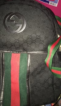 black and green Gucci leather bag Seat Pleasant, 20743