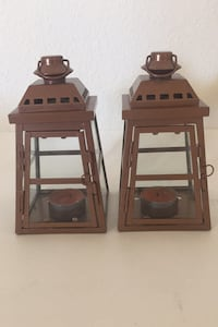 "Copper Decorative Lanterns Indoor/Outdoor Size H 6"" x Sq 3"" Palmdale, 93552"