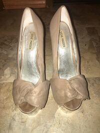 brown steve madden pumps size 8. some minor scuff marks as seen in pictures Denham Springs, 70726