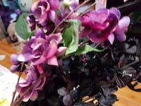 purple and black flower arrangement Regina, S4S 3W3