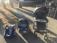 Chicco stroller with car seat and the base Edmonton