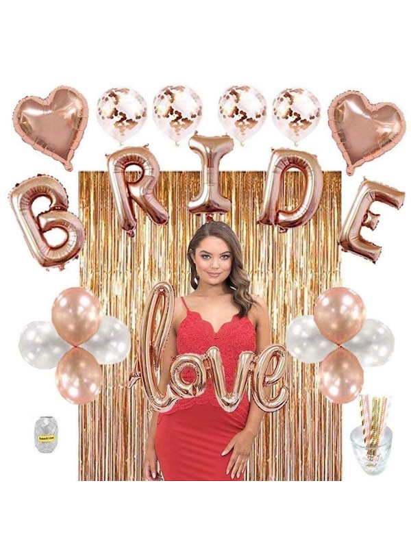 bachelorette bridal shower party decorations kit