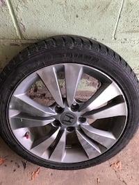 Winter Tires With Alloy Rims 205/50/17 Toronto