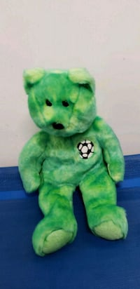 green and black frog plush toy Middletown, 10941