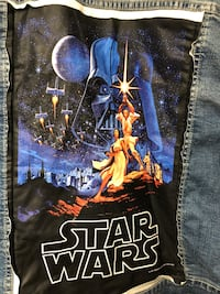 Star Wars denim Jacket for the husky