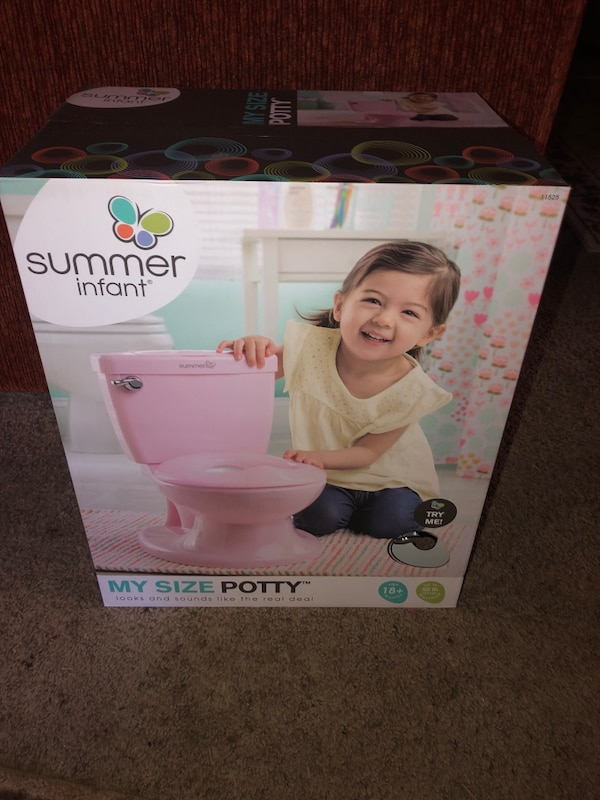 10e9bf4e2a7 Used Summer infant my size potty for sale in Bedford - letgo