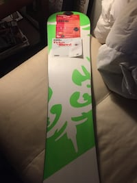 White and green 125 snowboard Frisco, 80424