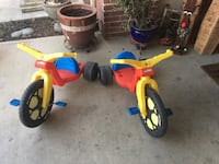 toddler's two red-blue-and-yellow trikes American Canyon, 94503