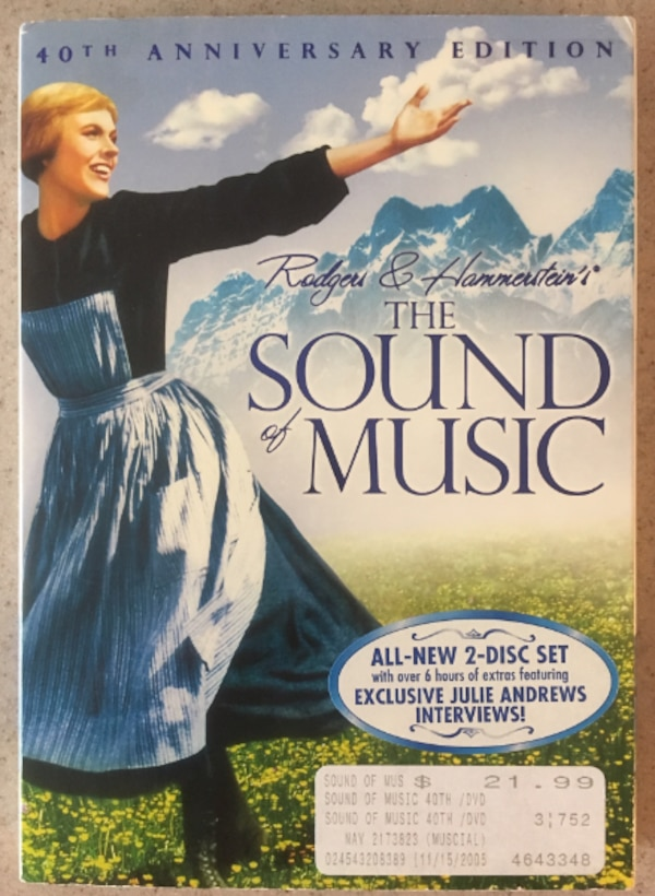 The Sound of Music 40th Anniversary 2-Disc DVD Set