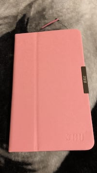 Pink leather tablet flip case Edmonton, T6K 2J9