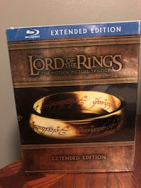The Lord of the Rings Trilogy Extended Edition Blu Ray