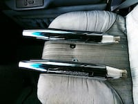 stock mufflers that fit a Harley Davidson 883/1200 sportster South Bend