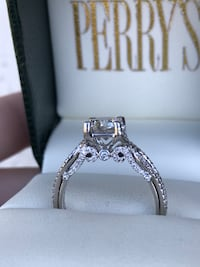 Veraggio style 14k white gold 2ct diamond engagement ring ! NEW! 1ct center  Arcade, 95825