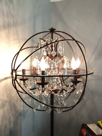 Beautiful Chandelier Floor Lamp