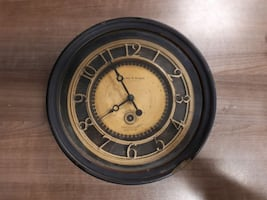 Sterling & Noble wall clock