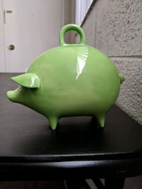 Old-fashioned Green Piggy Bank Provo, 84604