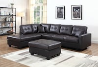 Brand New Synthetic Leather Sectional Sofa Toronto