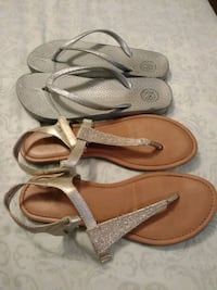 Sandals size 6 free with any purchase of 10.00 West Valley City